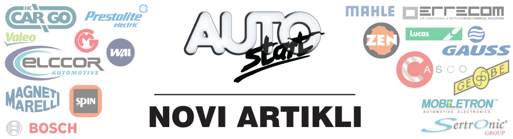 AutoStart - Novi artikli